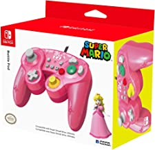 HORI Nintendo Switch Battle Pad (Peach) GameCube Style Controller Officially Licensed By Nintendo - Nintendo Switch