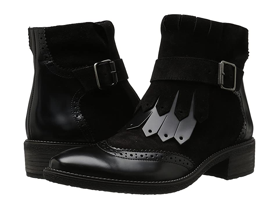 Paul Green Miller Boot (Black Combo) Women