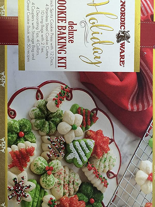 Nordic Ware Holiday Deluxe Cookie Baking Kit
