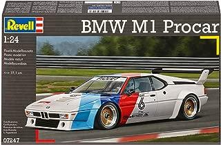 Revell BMW M1 Procar 1:24 Assembly Kit Sports Car - Modelos de vehículos de Tierra (1:24, Assembly Kit, BMW M1 Procar Championship, Coche Deportivo, Pro, De plástico)