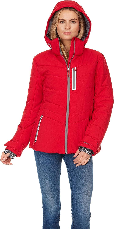 Arctic Quest Ladies Puffer Ski Jacket