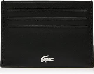 Lacoste Men's Credit Card Wallet, Black