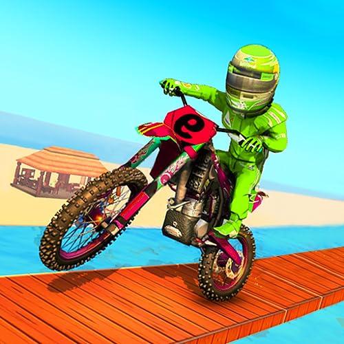 Super Stunt Moto Bike Racing Beach Fun: Ultimate Bike Racing Games 2020