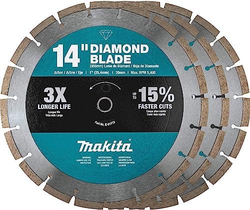 "new arrival Makita B-69646 14"" Diamond Blade, online Segmented, online sale General Purpose, Contractor 3/Pk sale"