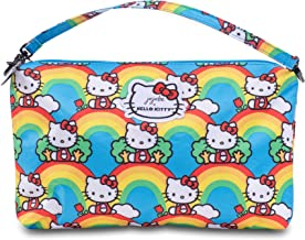 JuJuBe x Hello Kitty Diaper Bag Organizer, Be Quick   Wristlet + Travel Pouch for Purse, Bag Organization, Storage   Hello Rainbow