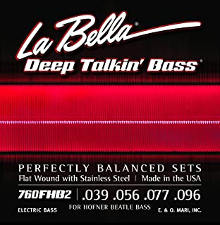 labella beatle bass strings