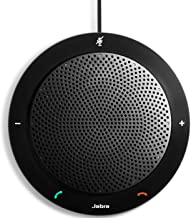 Jabra Speak 410 MS Portable Speaker for Music and Calls Black