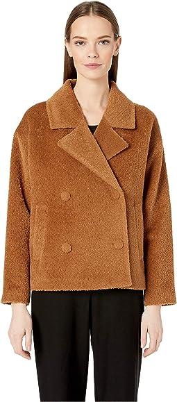 Notch Collar Short Jacket