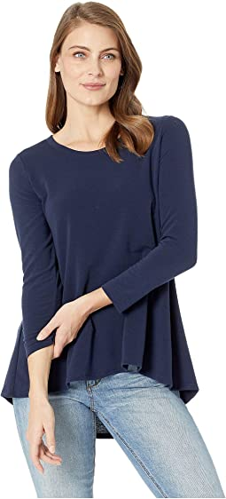 French Terry Back Pleat Tunic
