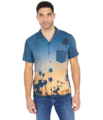 BOSS Hugo Boss Rhythm Photographic-Print Shirt (Black) Men