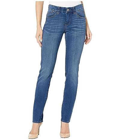 Jag Jeans Michelle Slim Jean in Platinum Denim (Brilliant Blue) Women