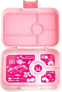 Yumbox Tapas Larger Size Leakproof Bento lunch box for Adults, Teens & Pre-teens. Over 4 cups food volume. (Amalfi Pink)