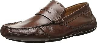 Clarks 男式 Ashmont Way 一脚蹬乐福鞋