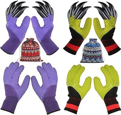 Trabajo guantes /& jardín guantes para niños 2 pares