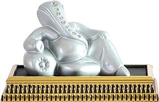 Saubhagya Global Earthenware Riddhi-Siddhi Hindu Religious God Ganesh Gold Plated Idol Decorative Showpiece Gifts Item for...