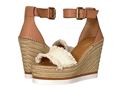See by Chloe SB28152 (Natural Canvas/Calf) Women