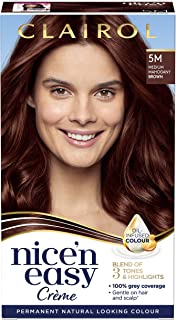 Clairol Nice N Easy Medium Mahogany Brown 5M Hair Dye