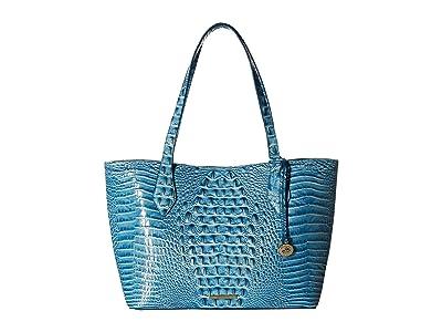 Brahmin Melbourne Athena (Cerulean) Handbags