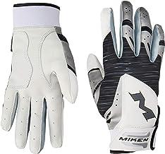 Miken MBGL18 Adult Baseball/Softball Batting Gloves