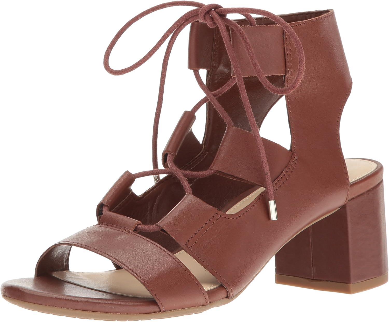 Nine West Womens Serrah Leather Dress Sandal