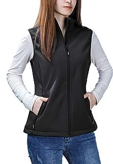 Women's Mia Windproof Full-Zip Fleece Lined Softshell Vest