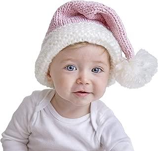 Huggalugs Baby Toddler & Adult Pink or Red Sparkle Santa Hat