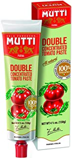 Mutti Double Concentrated Tomato Paste, 4.5 oz. Tube, 12-Pack