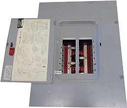 GE TL12412C 3 Phase 4 Wire Standard Main Lug Load Center With Door 12 Circuits 208 Volt AC Star/120 Volt AC NEMA 1 PowerMark Plus