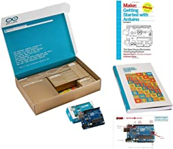 Arduino The Official Starter Kit Deluxe Bundle with Make:...
