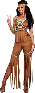 Women's Peace Out 60's 70's Hippie Costume