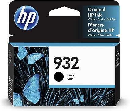 Oferta amazon: HP 932 CN057AE, Negro, Cartucho de Tinta Original, compatible con impresoras de inyección de HP OfficeJet 6100, 6600, 6700, 7110, 7510, 7610, 7612