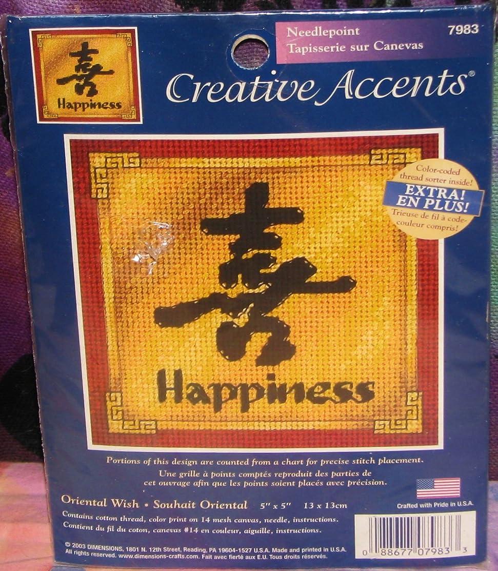 Oriental Happiness Needlepoint