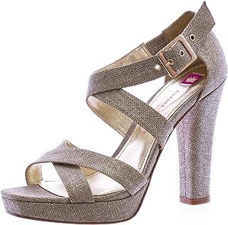 64f13a6f38bf6 Elaine Turner Sophia-SP12 Heeled Sandals Metallic