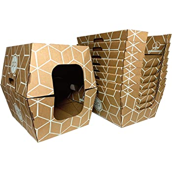 Cats Desire Disposable Litter Boxes Disposable Litter Boxes, 10 Piece