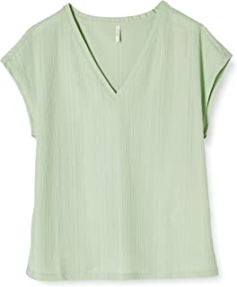 Only Onlcarol S/S V-Neck Top Jrs Camiseta para Mujer