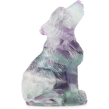 Crystal Sculpture Crystal Shop Rainbow Fluorite Animal Carving Fluorite Deer Carving Fluorite Animals Crystal Carvings Crystal Animals