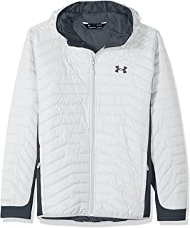 Outerwear Men's Cold Gear Reactor Hybrid Jacket, White/Stealth Gray, X-Large
