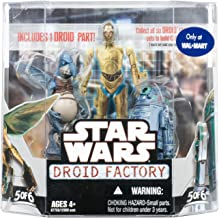 Star Wars Saga 2008 Build-A-Droid Factory Action Figure 2-Pack Watto and R2-T0