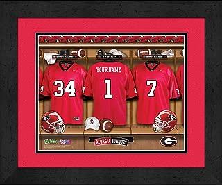 personalized georgia bulldogs football jersey