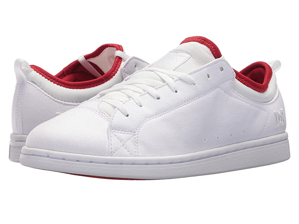 DC Magnolia TX SE (White/White/Athletic Red) Women