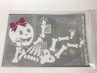 Baby GIRL Skeleton DIY Iron-on