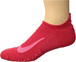 Elite Cushion No-Show Tab Running Socks