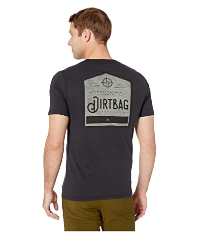 Prana Dirtbag Pocket Tee (Black) Men