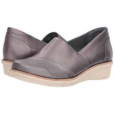 Dansko Julia (Pewter Metallic Brush-Off) Women
