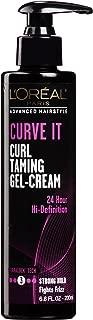 L'Oréal Paris Advanced Hairstyle CURVE IT Curl Taming Gel Cream, 6.8 fl. oz.