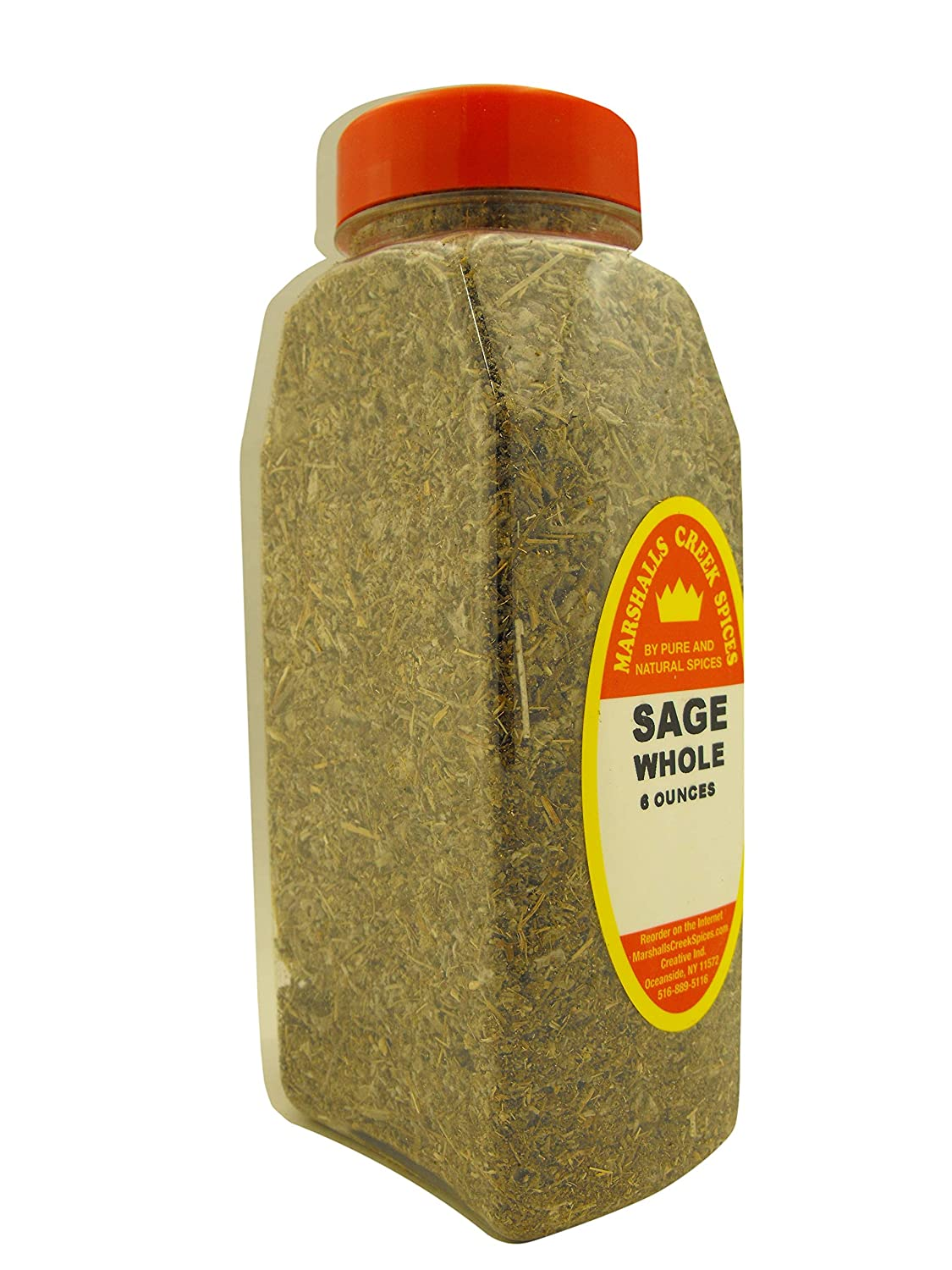 XL Size Marshalls Creek Limited time sale Spices … 6 New arrival oz Whole Sage