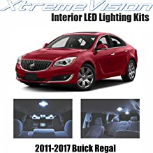 XtremeVision Interior LED for Buick Regal 2011-2017 (7 Pieces) Cool White Interior LED Kit + Installation Tool
