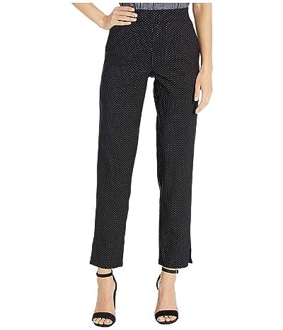 HUE Classic Temp Tech Trouser Leggings (Black/Polka Dot) Women