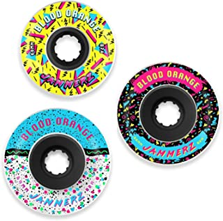 Blood Orange Jammerz Longboard Wheel for Freeriding and Sliding [All Sizes]
