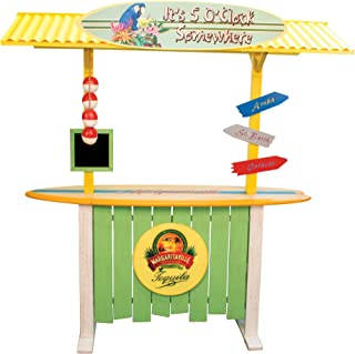 Margaritaville Home Outside Deck Party Bar with Roof